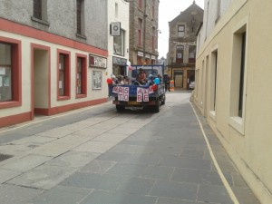 "Orkney 'Hen Night"" an observation from our man on the bus, photo - Tom Wilson"