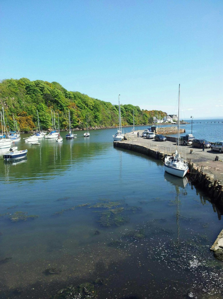 Aberdour Harbour - With tide up