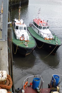 Even the Pilot Boats are drying out