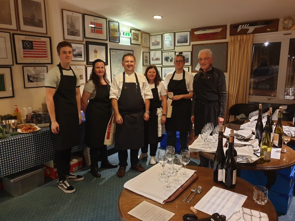 Pop up restaurant 'Paired' was a huge success