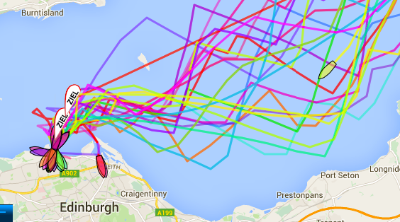 Helgoland race tracker 16:30 Saturday 30th May