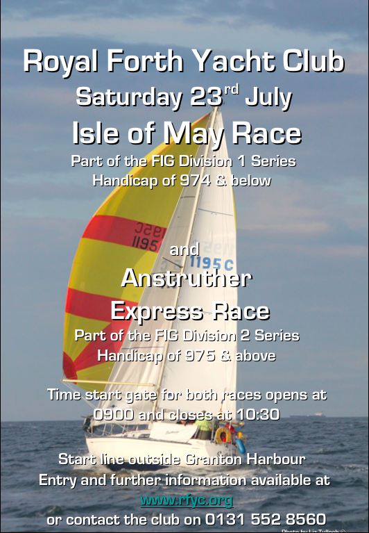 Isle of May and Anstruther Express Races 23/07/2016