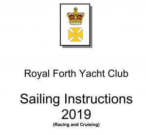 2019 Sailing Instructions Now Available